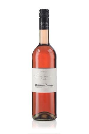 Flasche Rotwein Cuvée